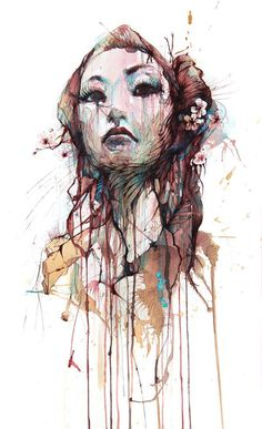 Carne Griffiths Uses Tea and Ink to Create Artistic Masterpieces | Nonsense Society