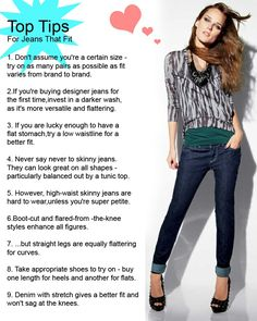 Tips for buying jeans...