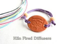 This kiln fired terracotta clay charm is very unique. Its not only cute but functional as well. It absorbs your favorite essential oil turning