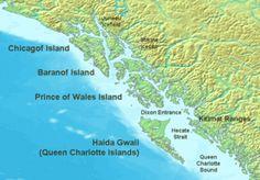 Haida Gwaii, Queen Charlotte Islands, British Columbia, Canada