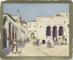 Tangiers. The Palais de Justice. From New York Public Library Digital Collections.