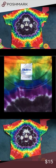 Unique & Unisex Jerry Garcia Tye Dye shirt Wonderful condition XL unisex T. Perfect for any Jerry or Dead fan! Very fun, festive, and unique! 🎶✌🏼🌈 Tops