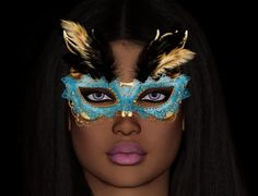 Saree in mask - mask found at prettypoun at Centerblog, thank you so much - jan's render