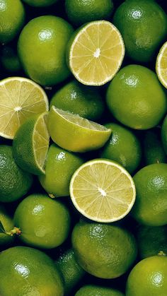 Shades of lime green
