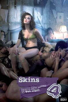 Skins - one of my absolutely favorite shows that I am every so slightly obsessed with. #tv #british