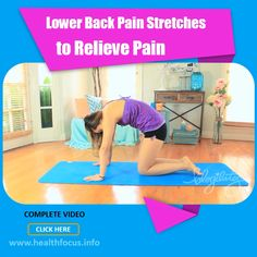 Lower back pain affects most people at one time or another, but physical activity and stretching can help soothe it. Here are 8 simple stretches Causes Of Back Pain, Lower Back Pain Relief, Physical Therapy Exercises, Physical Activities, Lower Back Pain Stretches, Restorative Yoga Poses, Massage Therapy, Workout Programs, Bikini