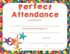 Looking for a beautiful Perfect Attendance award? This huge set of Eric Carle inspired awards and certificates has it all! Great for kids of all ages. Easy to print and fill out! Certificate Of Recognition Template, Certificate Design Template, Preschool Certificates, Award Certificates, Perfect Attendance Certificate, Printable Border, Doctors Note Template, Award Template, Classroom Charts