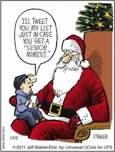 Christmas Memes Moderately Confused by Jeff Stahler for December 03 2011 Funny Christmas Pictures, Christmas Jokes, Christmas Cartoons, Funny Pictures, Christmas Sayings, Christmas Comics, Merry Christmas, Christmas Lights, Christmas Posters