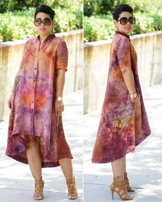 Image may contain: 2 people African Shirt Dress, African Print Shirt, African Print Fashion, African Fashion Dresses, Blouse Dress, African Attire, African Wear, African Women, Plus Size Shirt Dress