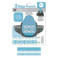 We R Memory Keepers - 2 Edge Punch Border and Corner Punch - Bracket at Scrapbook.com