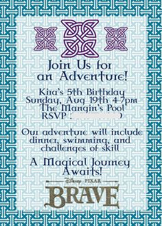 Disney Brave Birthday Party Ideas {from Jess and Monica at East Coast Creative}