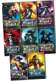 Skulduggery Pleasant Derek Landy 8 Books Collection Pack Set (Skulduggery Pleasant, Playing with Fire, The Faceless Ones, Dark Days, Mortal Coil, Death Bringer, Kingdom of the Wicked, Last Stand Of Man) by Derek Landy http://www.amazon.com/dp/B00JEGBEY2/ref=cm_sw_r_pi_dp_HFHzvb0SJ9FRM