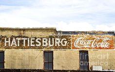 coke ad at Hatties