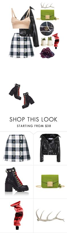 """Rockin it"" by heyyitsmejane ❤ liked on Polyvore featuring Thom Browne, Balenciaga, Gucci, DK, Furla, Aesop, Arteriors, La Perla, polyvorecommunity and fashionset"