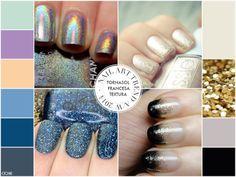 Tendencia nail art. Glam. Glitter www.ochik.com