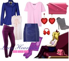 """[Fairy Tail] Lucy Heartfilia - Episode 29"" by chetmanly on Polyvore"