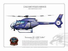 """EC-120B  """"Kolibri"""" Calgary Police Service"""