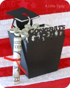 This is cute! A Little Tipsy: Last Minute Graduation Gift-- GREAT IDEA!!!!!!!! ONLY ON PINTEREST