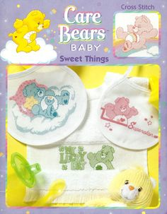 Care Bears Baby Sweet Things Book 1 - possible Birth Announcement