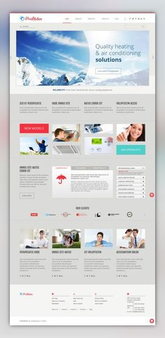 Air Conditioning Company WordPress Theme CMS & Blog Templates, WordPress Themes, Business & Services, Maintenance Services Templates, Air Conditioning Templates