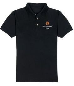 Embroidered Men's Polos - Enter your Text