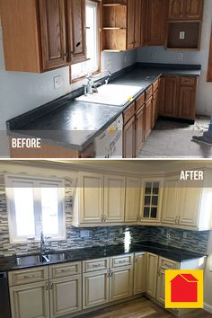 Kitchen Remodel By Lina P. Of Gloversville, NY. We Purchased The  Pre Assemblies Madison Cabernet Kitchen Cabinets And Special Order Laminate  Countertops.