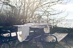 An ethereal outdoor picnic julietandlou.com