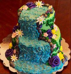 Cake That! Inc.: Waterfall Cake