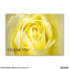 Deep Yellow Rose Large Business Cards (Pack Of Self Inking Stamps, Yellow Roses, Postage Stamps, Gift Tags, Business Cards, Stationery, Deep, Gifts, Wrapping