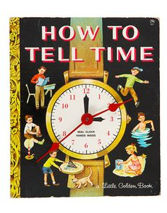 A perfect little DIY for someone just learing how to tell time!  From countryliving.com.