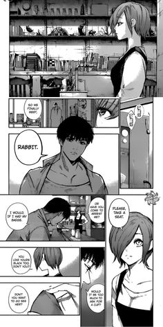 WHY IS ISHIDA SUDDENLY THROWING ORIGINAL TG FEELS AT US ITS BEEN TOO LONG IT HURTS SO MUCH MORE