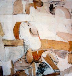 Paintings - Brett Whiteley - Page 2 - Australian Art Auction Records Australian Painting, Australian Artists, Figurative Kunst, Collage Art Mixed Media, European Paintings, Fine Art Auctions, Modern Artists, Abstract Art, Abstract Paintings