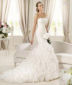 wedding dress #bride #pronovias