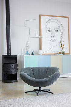 Combo Design is officieel dealer van Label!  ✓Gigi fauteuil makkelijk bestellen ✓ Gratis offerte aanvragen ✓ Altijd de scherpste prijs Egg Chair, Eames, Bean Bag Chair, Lounge, Furniture, Home Decor, Chairs, Design, Couches