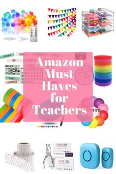 The very best in Amazon Must haves for the classroom.  My favorite classroom supplies that are functional and cute too! Preschool Classroom Decor, Classroom Supplies, Classroom Design, Kindergarten Classroom, Classroom Themes, Classroom Organization, Classroom Management, Teacher Tools, Teacher Hacks