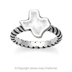 Texas Ring. James Avery. I NEED THIS