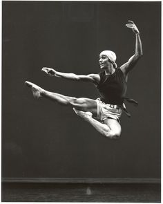 Tulsa Ballet founder Roman Jasinski in The Prodigal Son, created for The Ballet Russe by George Balanchine