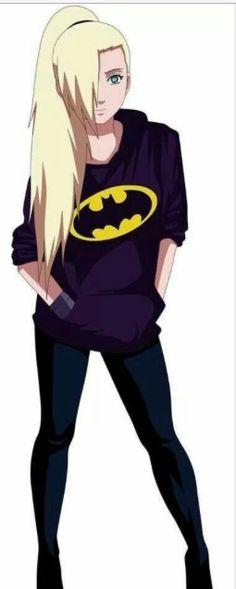 Ino is so cool but so hot at the same time