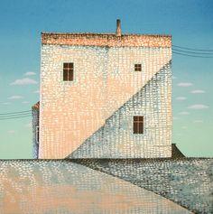 Jan Baker - Kunstmalerens hus (variant) (EA)
