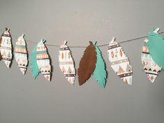 Tribal banner, tribal baby shower, tribal birthday, woodland nursery, woodland baby shower by juneforest on Etsy https://www.etsy.com/listing/255642701/tribal-banner-tribal-baby-shower-tribal