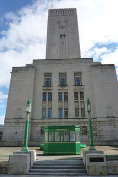 Ventilation Station and Offices. Mersey Tunnel 1931-34