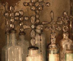 amazing crystal cross bottles