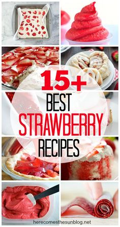 This delicious Homemade Strawberry Freezer Jam is so easy to make! No canning system needed!