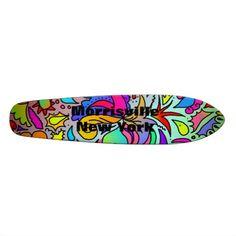Morrisville, New York. Skate Board Deck