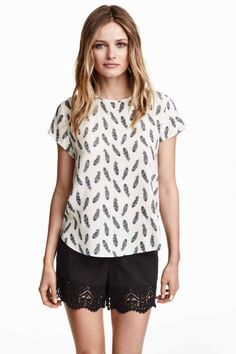 Bluzka z krepy | H&M | 59,90 zł