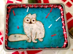 Simons cat cake for my son