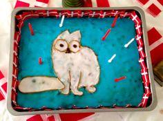Simons cat cake for my son