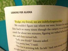 Looking for Alaska; John green