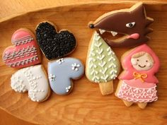 Grue * press: Fall & Halloween cookie icing