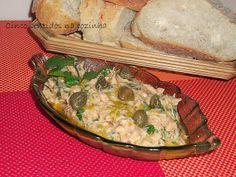 Cinco sentidos na cozinha: Paté de cavala com pickles e alcaparras